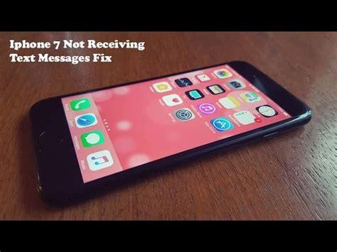 iphone 7 iphone 7 plus not receiving text messages fix fliptroniks