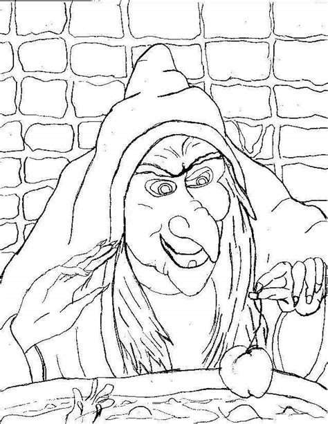 scary halloween coloring pages scary halloween witch