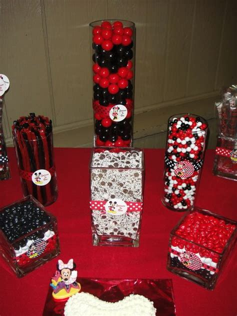 birthday themes in red mickey and minnie mouse birthday party ideas birthdays