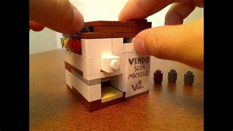 Lego Tutorial Soda Machine   lego soda machine v2 0 quad stock w tutorial youtube