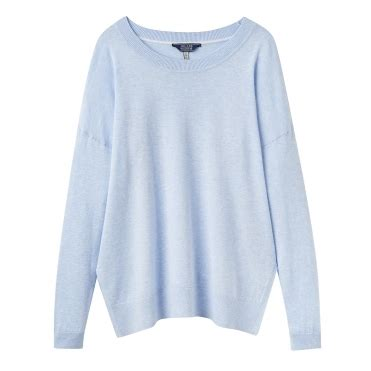 Ola Basic Knitted Crew Neck Top joules womens jumpers cho fashion lifestyle
