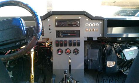 jeep xj dashboard really write up on custom xj dash http