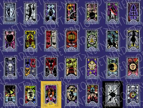 printable persona tarot cards made a little graphic showing the quot sinful quot differences