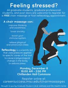 massage chair simple chair massage flyer design massage