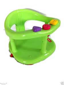new infant baby safety bath chair tub ring seat by keter