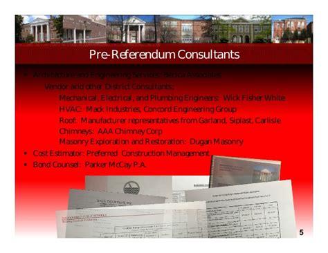rp design management haddonfield nj october 1 referendum presentation haddonfield boe