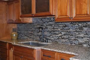 kitchen blue mosaic kitchen backsplash captivating black
