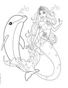 barbie mermaid coloring pages cartoons coloring pages
