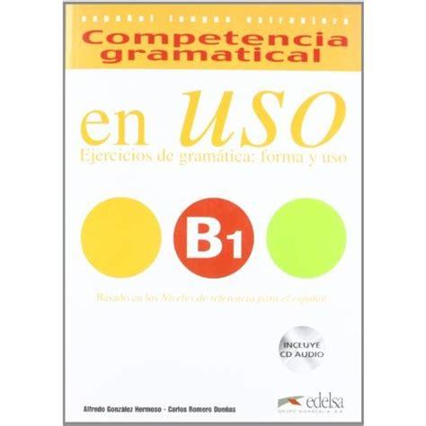 competencia gramatical en uso 8477112037 competencia gramatical en uso