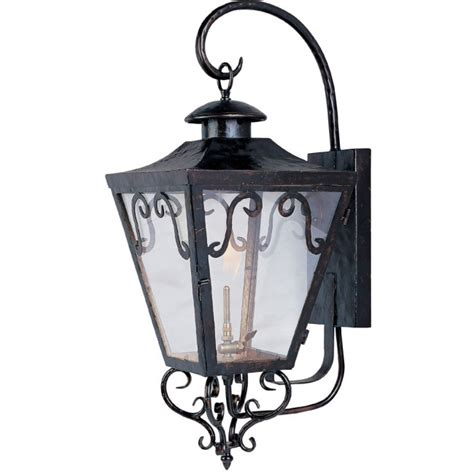 gas lantern outdoor lighting maxim lighting cordoba outdoor wall gas lantern