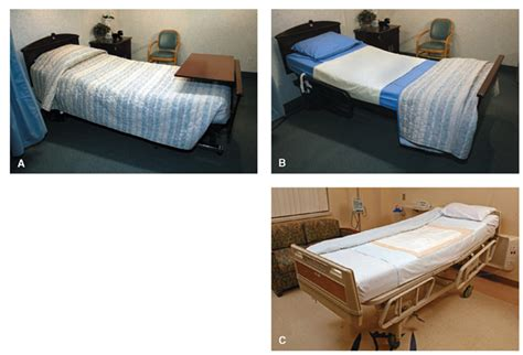 making bed beds and bed making client care nursing