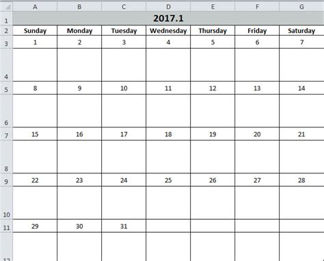 How To Create Calendar In Excel How To Create A Calendar In Your Excel Worksheet With Vba