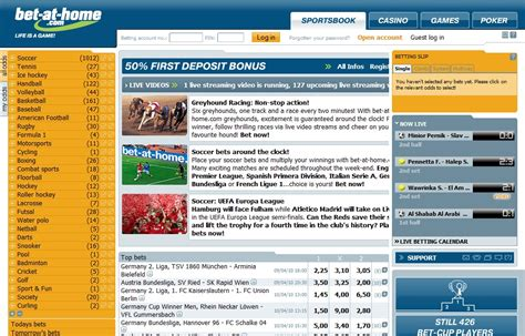 bet at home official website