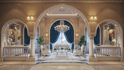 luxury interiors now in qatar rd studio luxury mansion interior quot qatar quot on behance