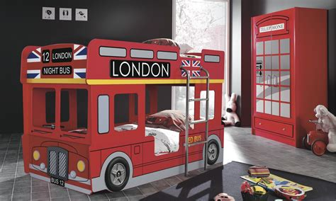bus bed kids london bus bed london bus bunk bed kids beds kids bunk beds mattresses ebay