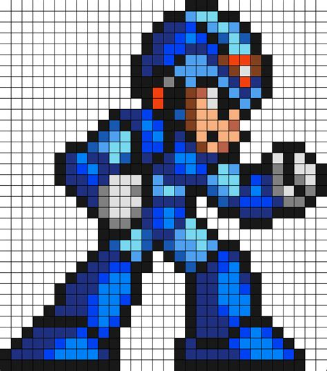 mega perler mega x perler bead pattern bead sprites characters