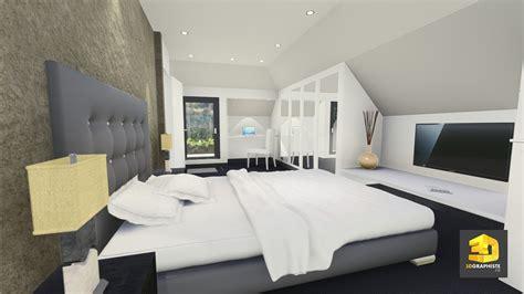 cr馥r chambre 3d illustrateur 3d chambre a coucher 3dgraphiste fr