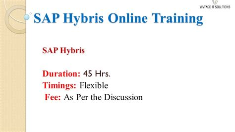 sap hybris tutorial sap hybris training video sap hybris course content