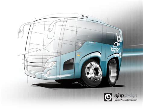 desain grafis bus koolart bus desain bis