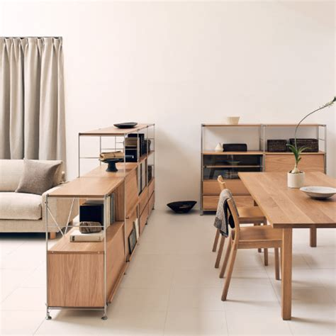 Dining Room Table And Bench furniture muji