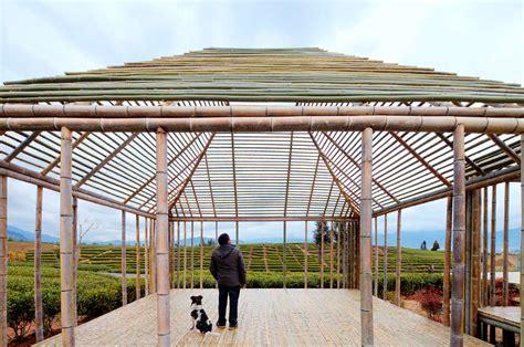 pavillon bambus bamboo pavilion architizer
