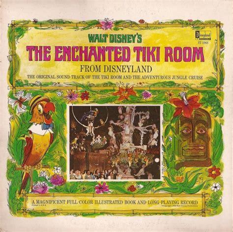 the tiki tiki tiki room song walt disney vinyl record albums