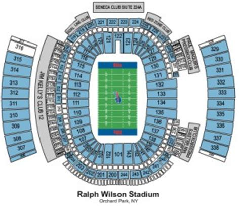 ralph wilson seating chart buffalo bills ralph wilson nfl football betting lines