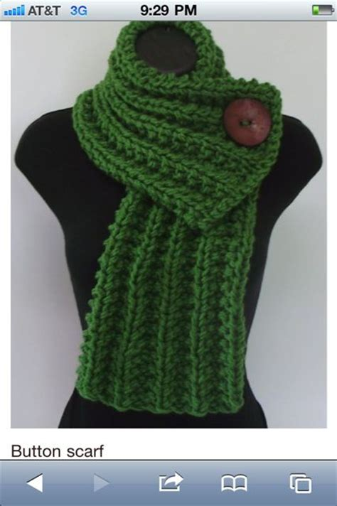 button scarf knitting pattern one button knitted scarf pattern stitch style