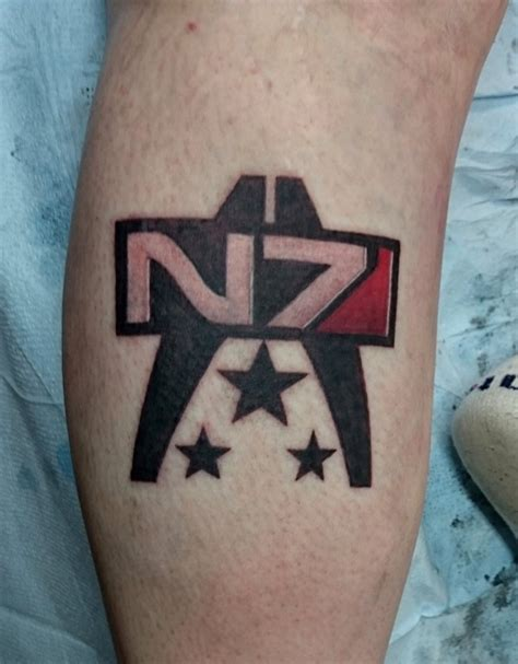 n7 tattoo mass effect n7 by joshuapeople on deviantart
