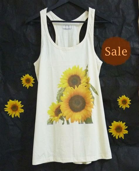 Kazel Singlet Jumper White Edition 1000 ideas about flower shirt on underground shoes shirts and tank tops