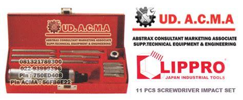 Obeng Lippro 11 pcs screwdriver impact set lippro abstrax consultant