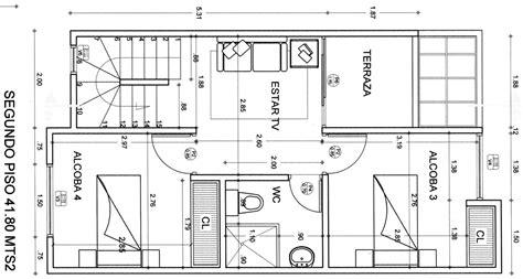dos imagenes a pdf planos de casas con medidas