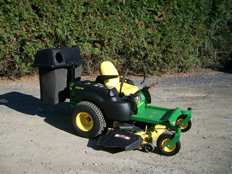 high quality used landscape equipment 2 deere zero