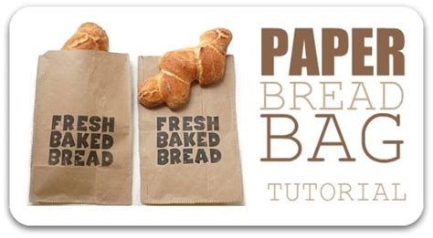 How To Make Paper Bread - brown paper bread bag st tutorial 575 title paper jpg