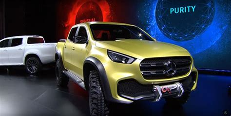 2018 mercedes up truck 2018 mercedes x class truck features and release