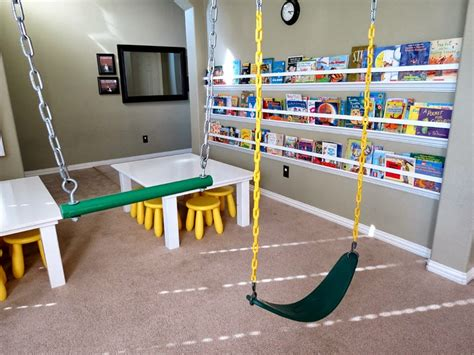 indoor swings for home fun homes that feature indoor swings and stay casual