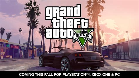 Ps4 Playstation 4 Grand Theft Auto V gta v playstation 4 trailer grand theft auto v also headed to xbox one collider