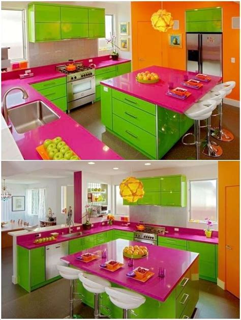 colorful kitchen ideas 5 bright and colorful kitchen designs that are simply fabulous