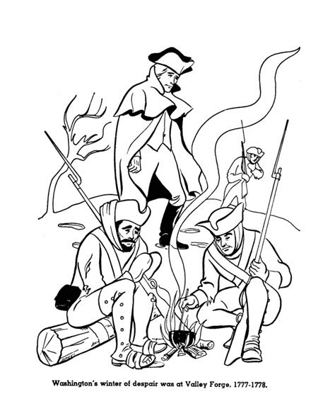 american revolution coloring pages coloring home