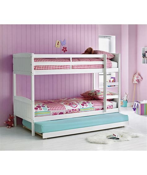 Argos Childrens Bedroom Furniture Buy Detachable Single Bunk Bed Frame With Trundle White At Argos Co Uk Your Shop For