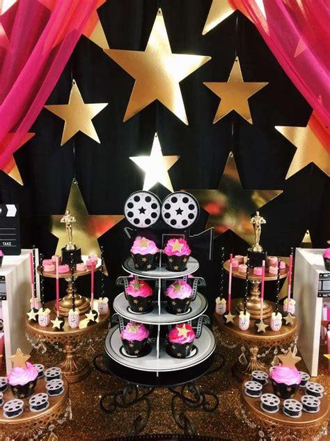 hollywood movie theme party hollywood theme birthday party ideas hollywood birthday