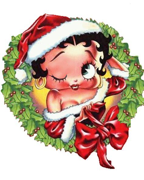 imagenes navidad betty boop gifs animados de navidad de betty boop gifmania