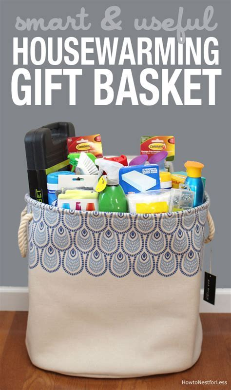 Housewarming Gift Basket   How to Nest for Less?