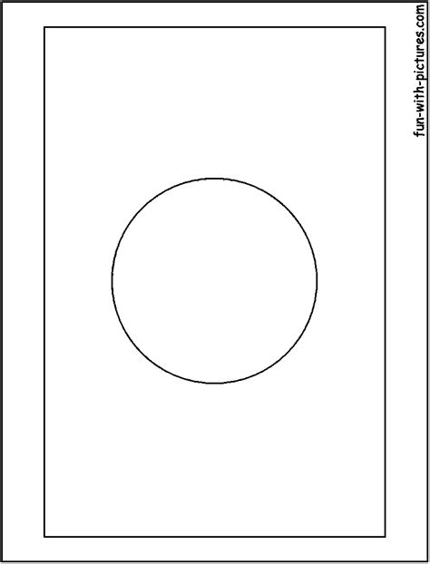japan flag free colouring pages