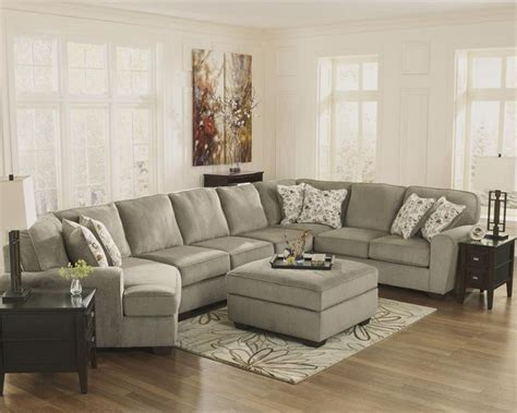 patola park patina cuddler sectional  ashley furniture