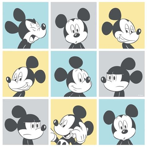 Karpet Bulu Motif Mickey Minnie galerie official disney mickey mouse pop pattern childrens wallpaper mk3013 2