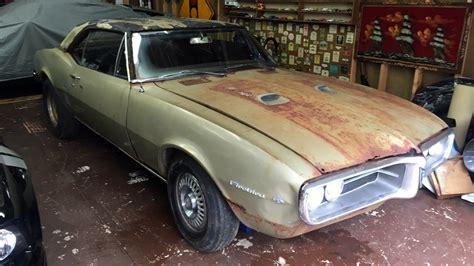 how to fix cars 1967 pontiac firebird engine control rustbird 1967 pontiac firebird 400