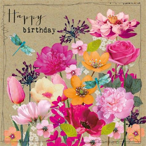 Flower Cards For Birthdays 108 Best Images About Happy Birthday Flower On Pinterest
