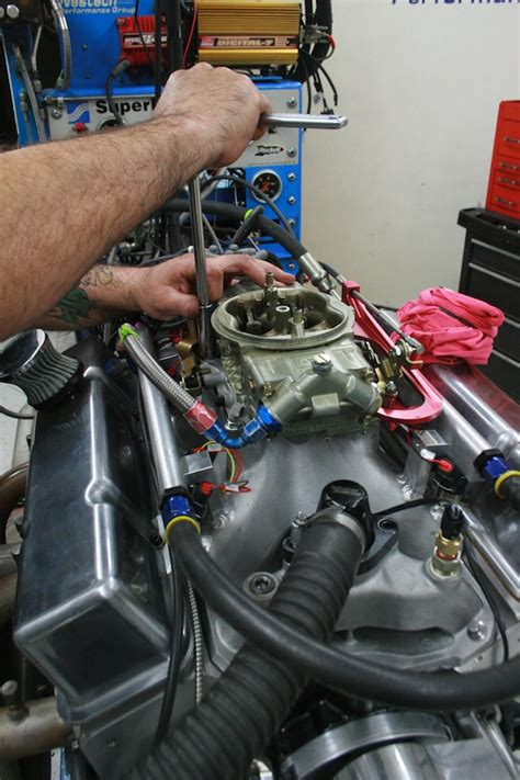 engine   dyno facility   time