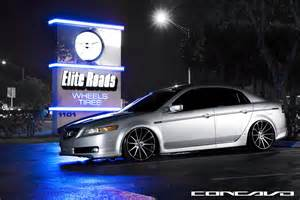 acura tl slammed on 20x10 5 cw 12 done by our friends at